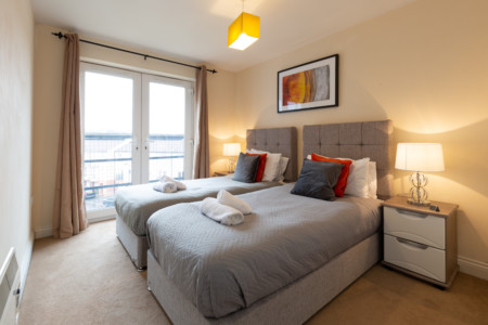Spacious 2 Bedroom Apartment in Southampton City Centre
